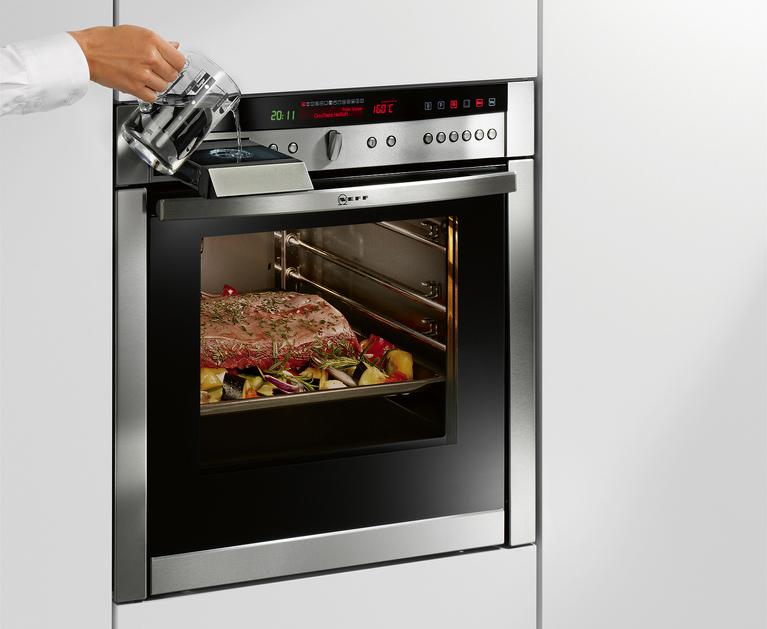 Variosteam de neff cocina con un toque de vapor cocinas for Cocinar con horno de vapor