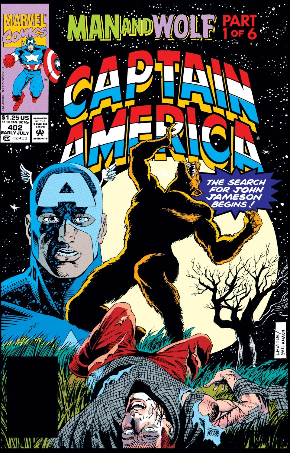 Captain America (1968) Issue #402 #351 - English 1