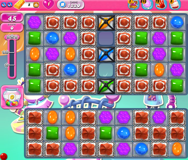 Candy Crush Saga 1220