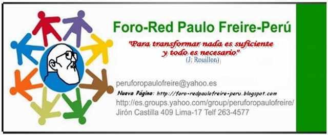 Foro-Red Paulo Freire- Perú