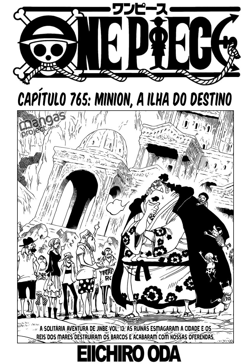 One Piece 765 Mangá Português leitura online