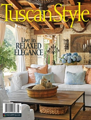 Honored to be featured in Tuscan Style Magazine!