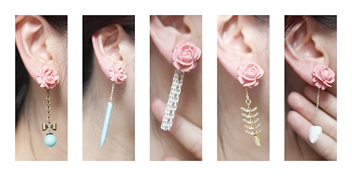 Tutorial Double Sided Earrings