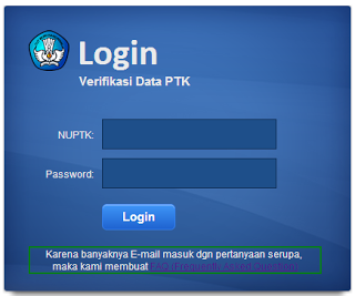 cara cek verifikasi data guru atau ptk 2013 mulai tahun 2013