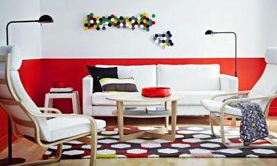 10 id es originales pour peindre son int rieur blog d co mydecolab - Peindre un mur en rouge ...