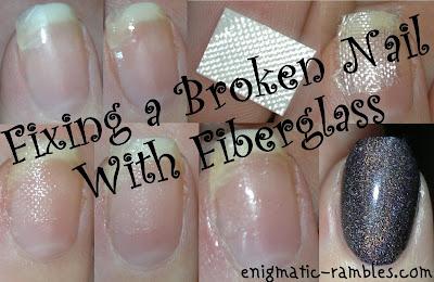 fixing-a-broken-nail-using-fibreglass