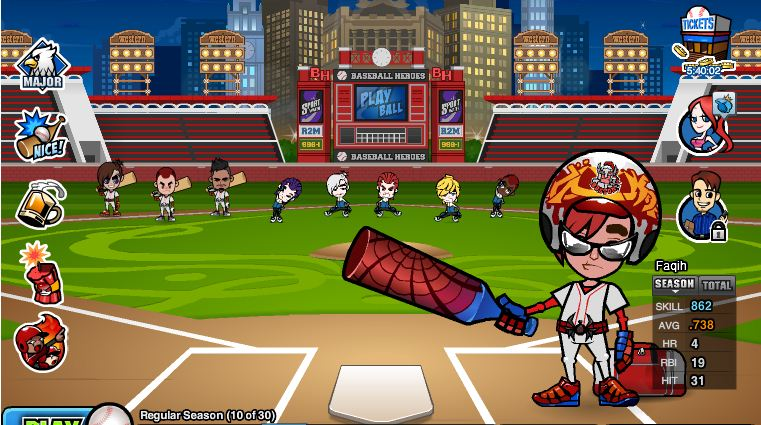 Cheat Baseball Heroes Facebook Terbaru + Video Update 2012