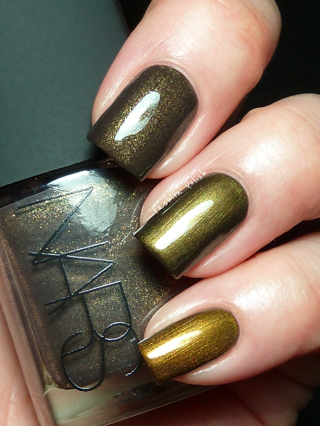 Fashion Polish: Nars Night Clubbing Swatches and Review