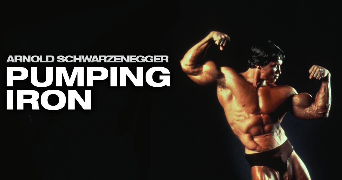 Arnorld Schwarzenegger Pumping Iron