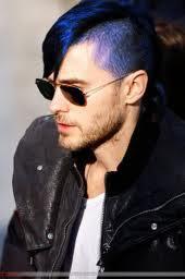 Colore capelli blu azzurro