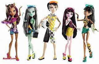 MONSTER HIGH A TOPE