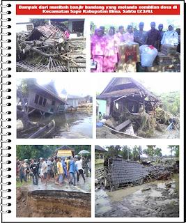 Foto-foto Dampak Banjir Sape