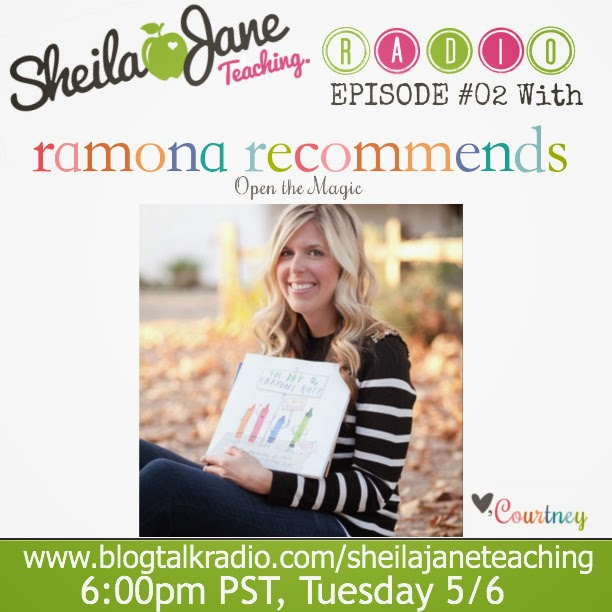 http://www.blogtalkradio.com/sheilajaneteaching/2014/05/07/02-interview-with-ramona-recomends
