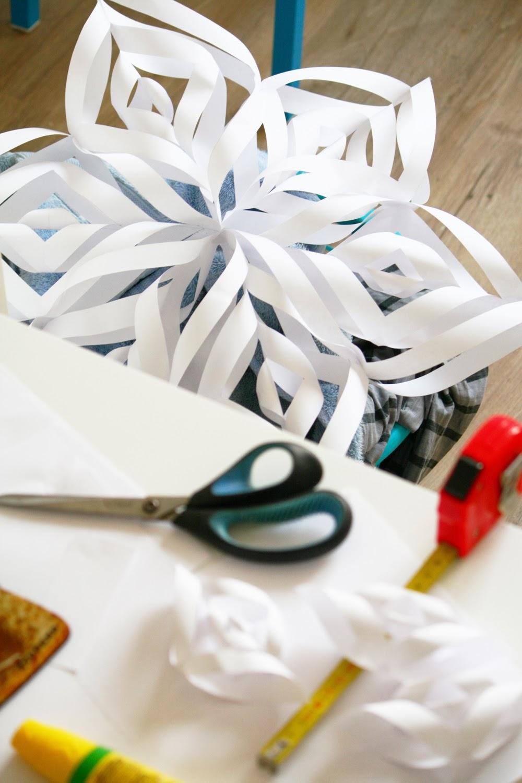 Etoiles en papier DIY