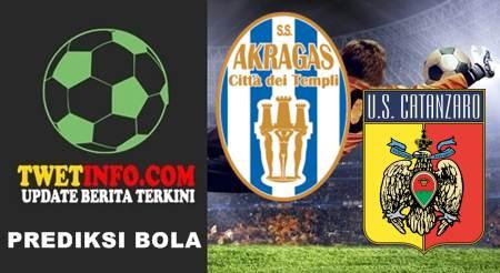 Prediksi Akragas vs Catanzaro, Coppa Italia, Akragas vs Catanzaro