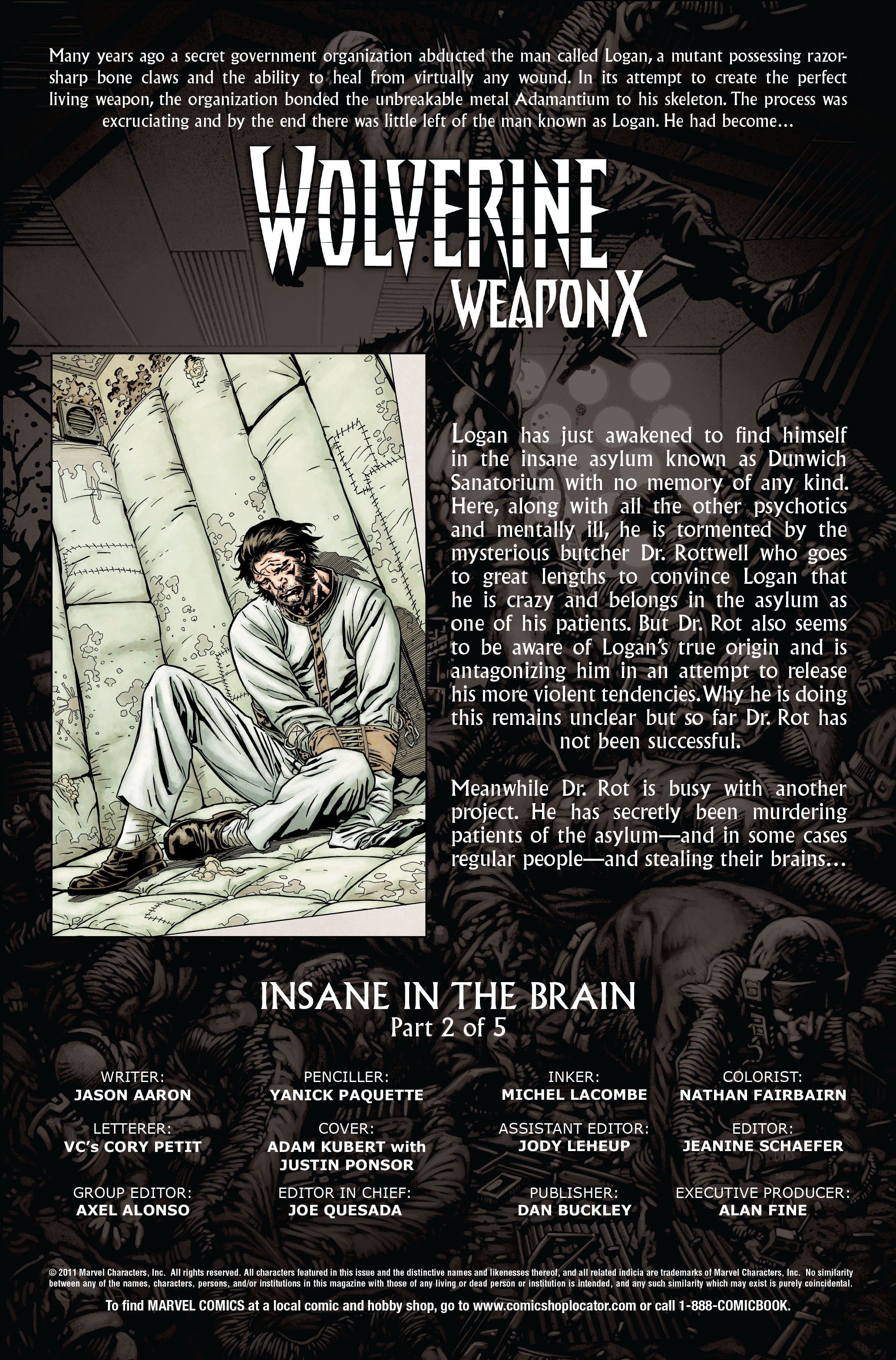 Wolverine: Weapon X #7 #10 - English 2