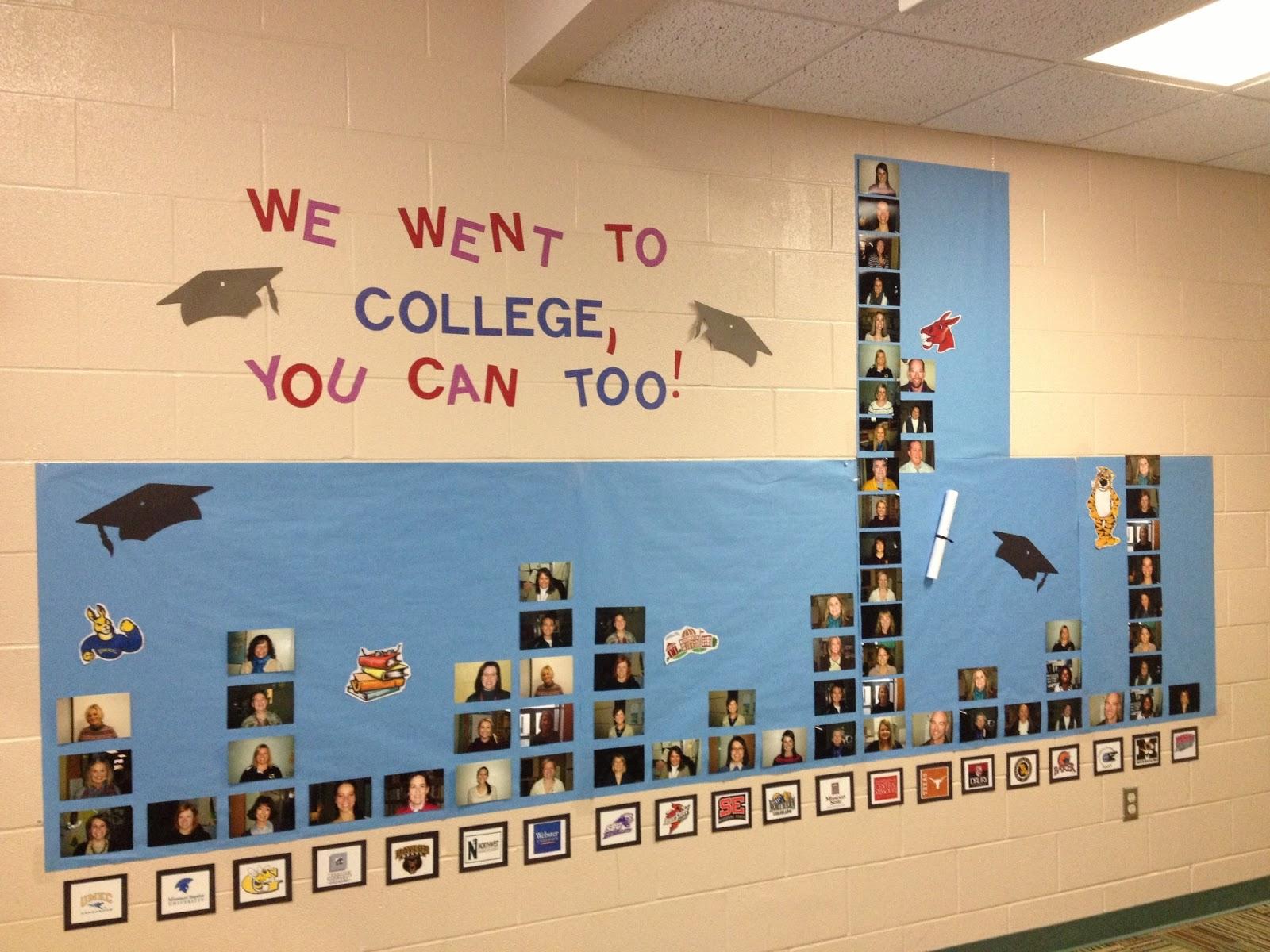 Classroom Bulletin Board Ideas High School ~ Kc school counselor chic career day fun