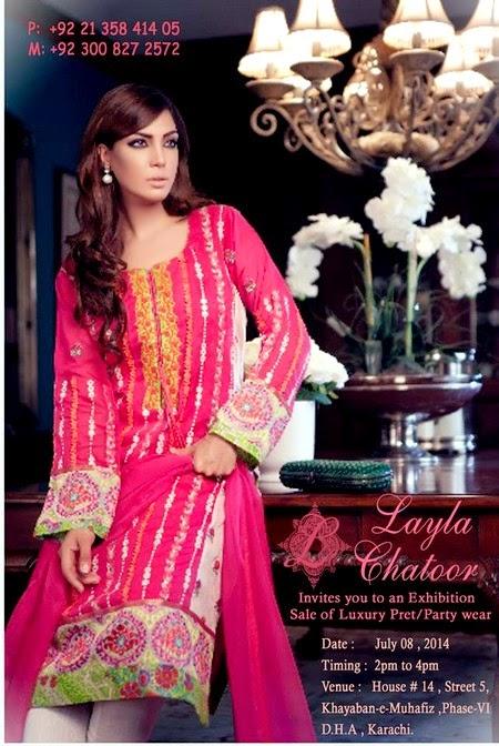 Layla Chatoor Eid Dresses 2014