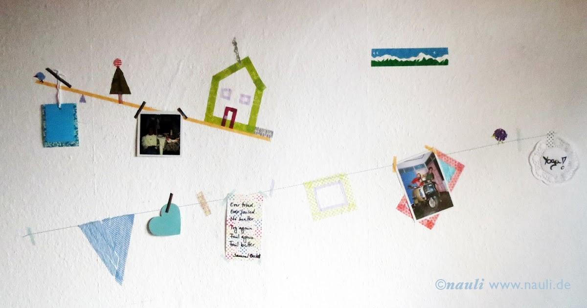 washi tape desktop collage masking tape schreibtisch kollage. Black Bedroom Furniture Sets. Home Design Ideas