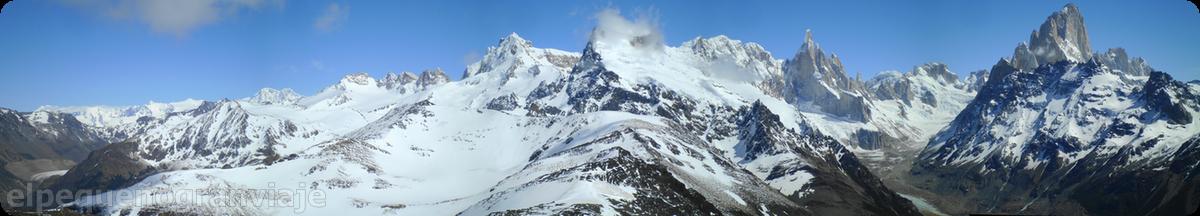 Los Andes, Fitz Roy, Loma de pliegue Tumbado
