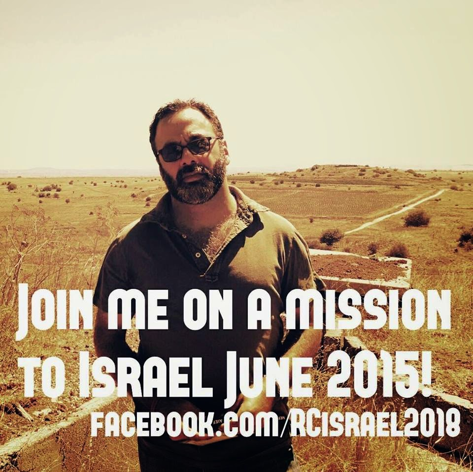 Join Rabbi Creditor's Mission to Israel June 21-30, 2015!