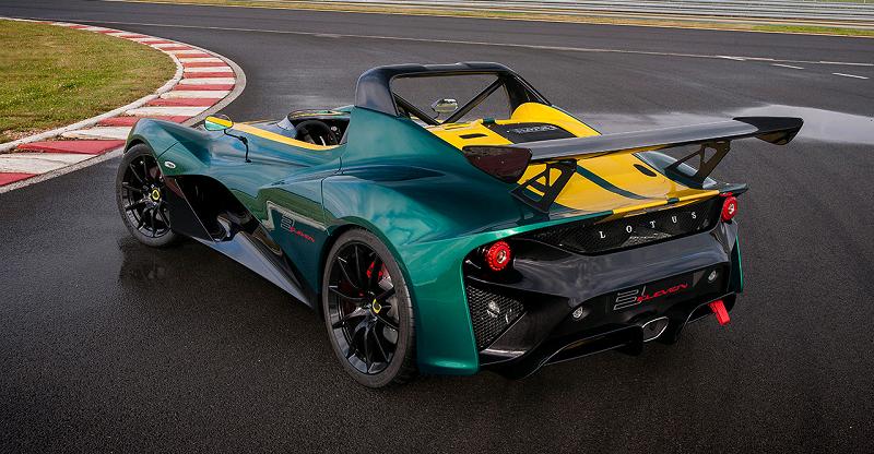 Các dòng siêu xe Lotus & mẫu xe Lotus