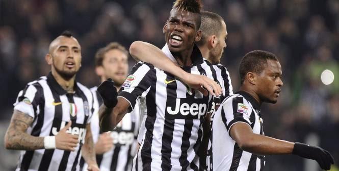 Paul Pogba a offert la victoire à la Juventus face à Sassuolo