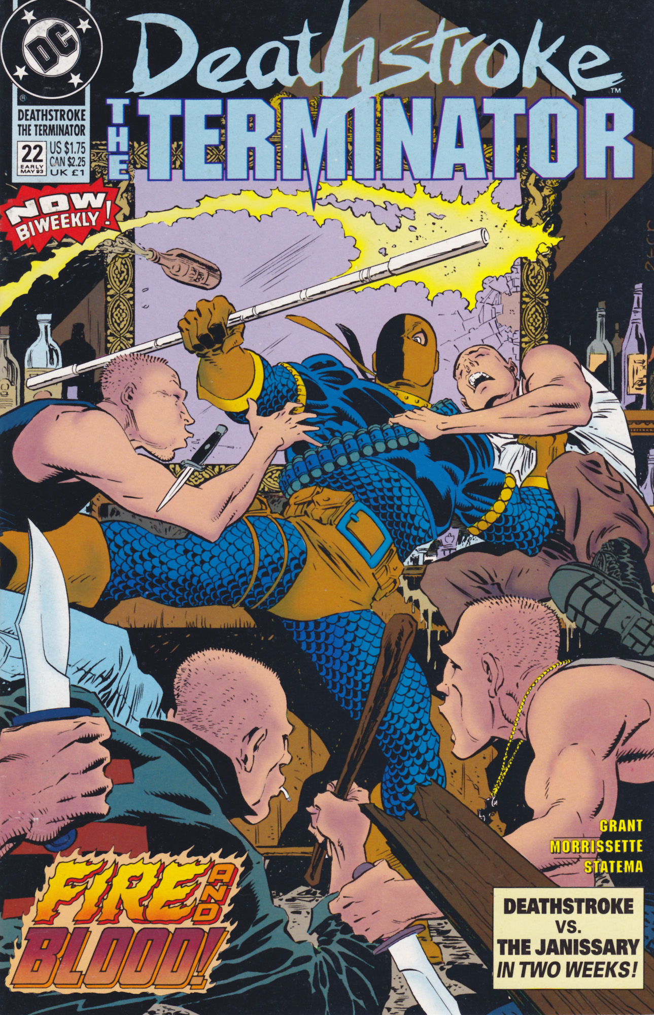 Deathstroke (1991) Issue #22 #27 - English 1