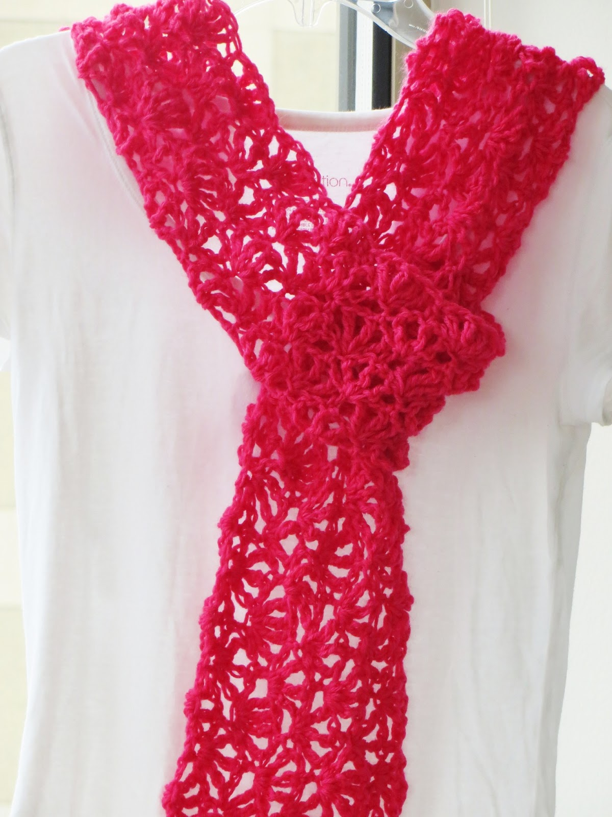 For the Love of Crochet Along: Alana Lacy Scarf, Free ...