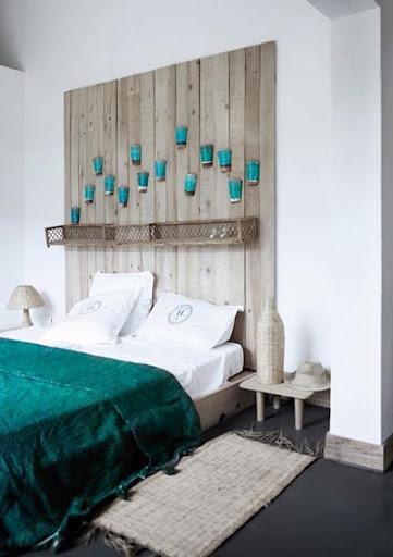 Marta decoycina cabeceros de ensue o for Alfombra azul turquesa del dormitorio