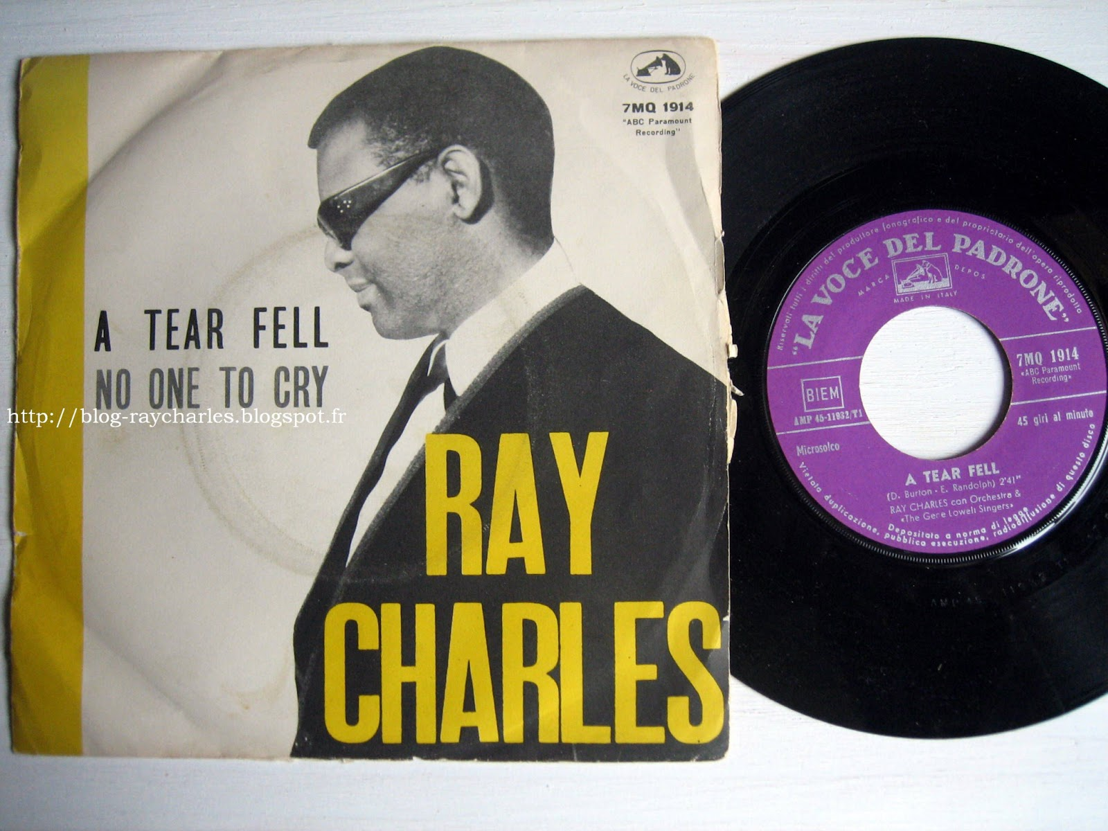Ray Charles Your Cheating Heart