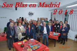 SAN BLAS EN MADRID 2018