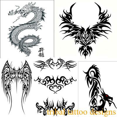 Tribal Tattoos   on Upper Back Tribal Tattoo Designs 12 Upper