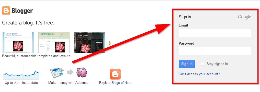 how to delete a blog on blogspot