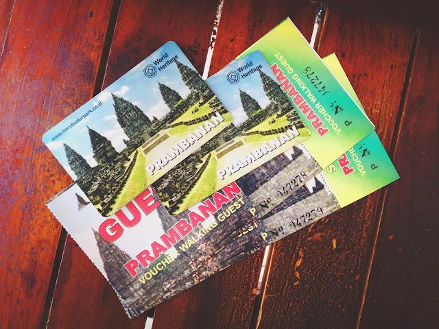 Prambanan tickets
