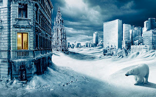 Winter City HD Wallpaper