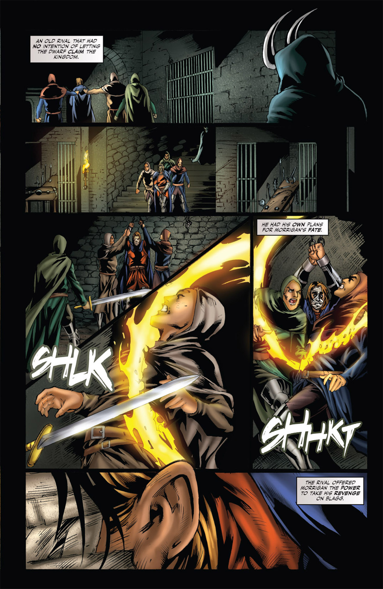 Grimm Fairy Tales (2005) Issue #53 #56 - English 21