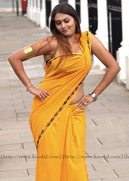 Actress Namitha Stills in Saree unseen pics