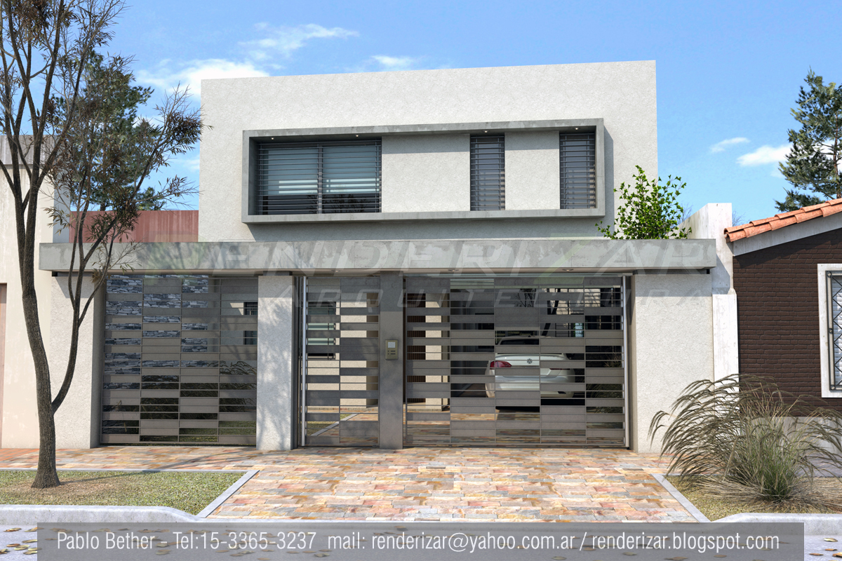 Renderizar arquitectura imagenes 3d renders for Casas modernas renders