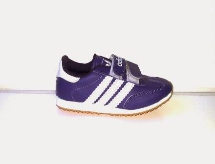 Sepatu Adidas Samba Anak ungu murah,