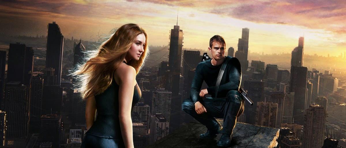 Protagonistas de la saga Divergente