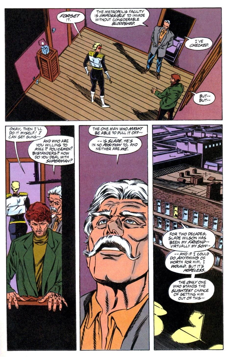 Deathstroke (1991) Issue #12 #17 - English 25