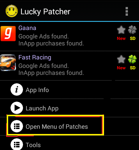 lucky patcher for unrooted android