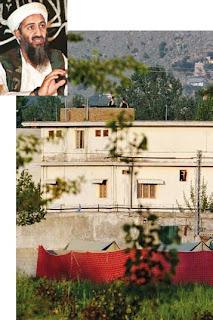 Mansion where Osama bin Laden was killed