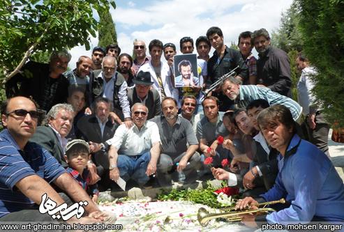 عکس مراسم ایرج قادری
