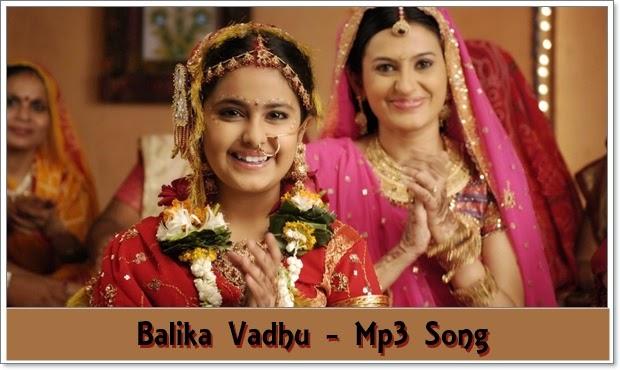 balika vadhu serial mp3 song