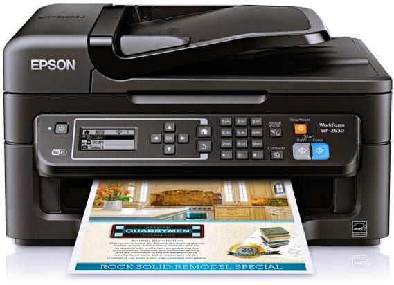 Epson Workforce WF-2630 Printer Driver