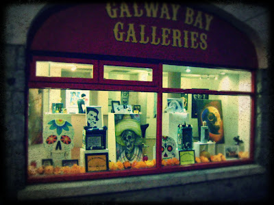 Galway Bay Galleries Day of the Dead Exhibition Pathological Gomez