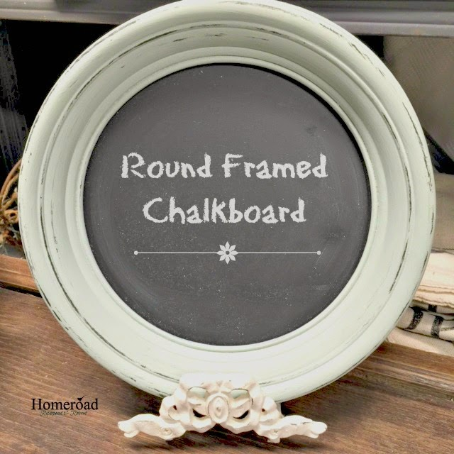 Chalkboard on a stand