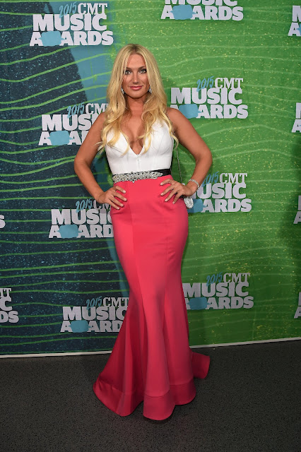 Singer, Actress, Model @ Brooke Hogan - CMT Music Awards at the Bridgestone Arena in Nashville Tennessee